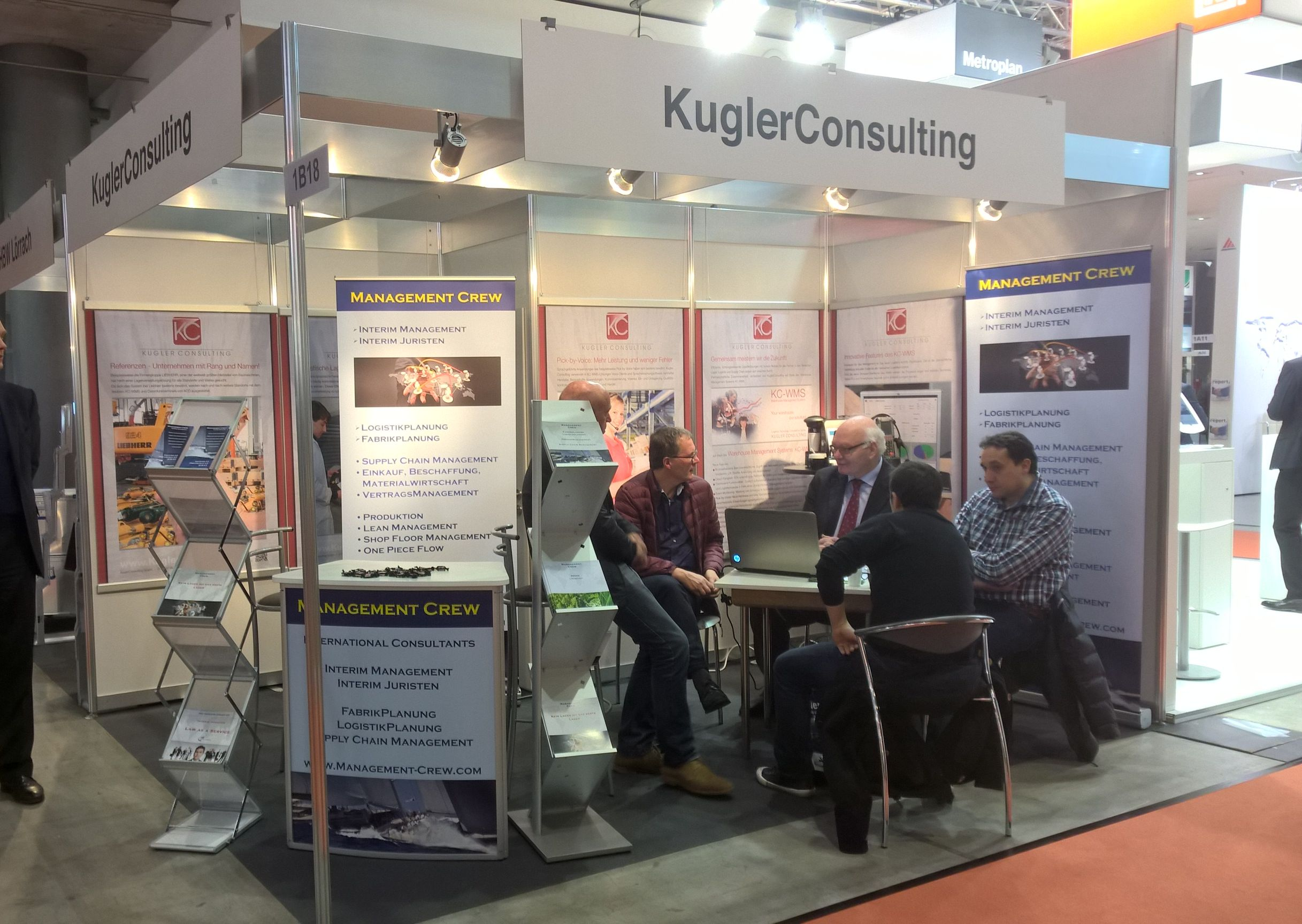 LogiMAT Messestand